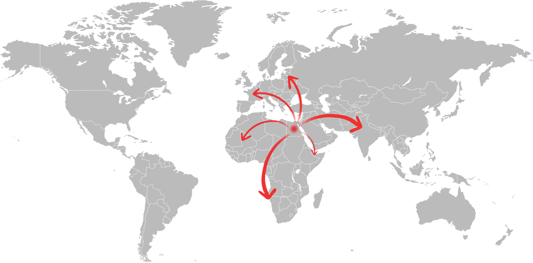 SASCO WORLDWIDE DISTRIBUTION MAP